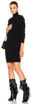 AG Adriano Goldschmied Marissa Turtleneck Dress in Black.