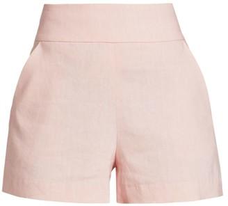 Alice + Olivia Donald High-Waist Shorts