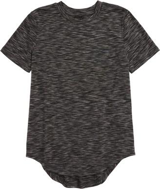 Elwood Curved Hem Space Dye T-Shirt