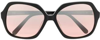Missoni oversized hexagonal sunglasses
