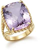 Bloomingdale's Lavender Amethyst Rectangular Statement Ring in 14K Yellow Gold