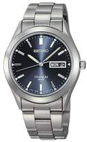Seiko Men's Mechanical Stainless Titanium Watch, 40.3mm