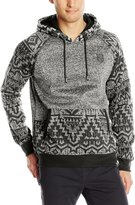 Southpole Men's Marled Pull Over Hoodie with Hood Arms and Pocket