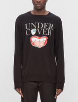 "Undercover Mouth"" Sweatshirt"