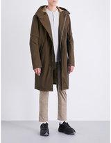 Helmut Lang Hooded shell parka coat