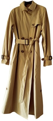 Max Mara Weekend Beige Wool Trench Coat for Women