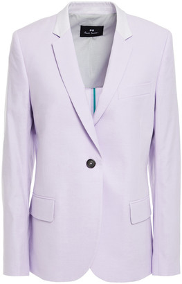 Paul Smith Cotton-blend Twill Blazer