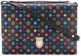 Paul Smith 'Tudor Rose' print 'Concertina' satchel