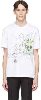 Brioni White Garden T-Shirt
