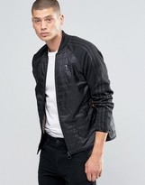adidas Mad Plaid Superstar Jacket In Black AY9297