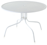 Crosley White Griffith Dining Table