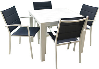 16 Elliot Way Skyline Outdoor Square Table Dining Set