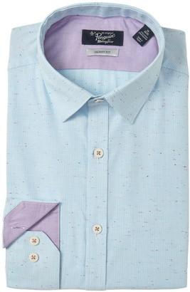 Original Penguin Slim Fit Speckled Stripe Dress Shirt