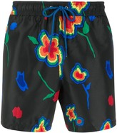 Paul Smith floral print swim shorts