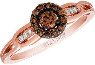 LeVian Le Vian 14K Rose Gold 0.28 Ct. Tw. Diamond Ring