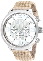 Armani Exchange Classic AX1374 Men's Nylon and Stainless Steel Chronograph Watch