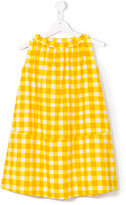 Marni sleeveless checked dress - kids - Cotton - 12 yrs