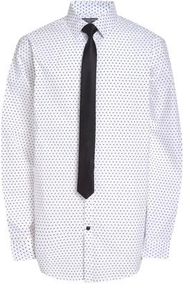 Van Heusen Boys 10-20 Husky Button-Up Shirt & Tie Set