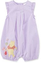Disney Baby Collection Pooh Bear Woven Romper - Baby Girls newborn-24m