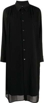 Comme des Garcons Relaxed-Fit Shirt Dress