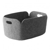 Muuto Grey Storage Basket Restore