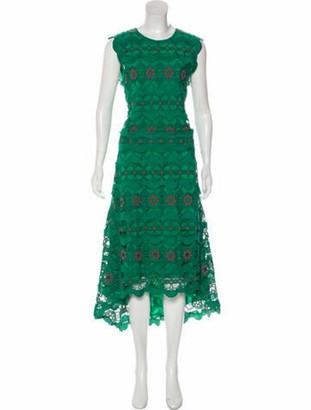 Chloé Silk Lace Dress w/ Tags pink