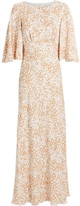 Shona Joy Heather Bias Floral Maxi Dress