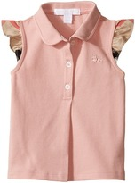 Burberry Mini Tia Polo Girl's Short Sleeve Knit