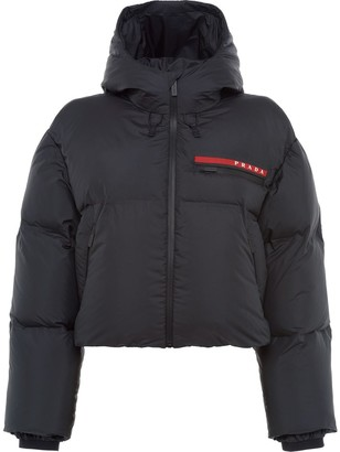 Prada Cropped Puffer Jacket