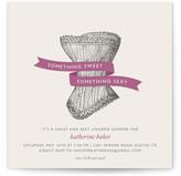 Minted Vintage Corset Bridal Shower Invitations