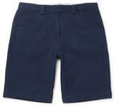 Blue Blue Japan - Sashiko-stitched Cotton Shorts