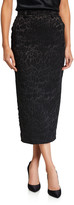 Unttld Leopard Jacquard Pencil Skirt