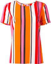 P.A.R.O.S.H. striped blouse - women - Silk/Spandex/Elastane - S