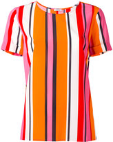 P.A.R.O.S.H. striped blouse - women - Silk/Spandex/Elastane - XS