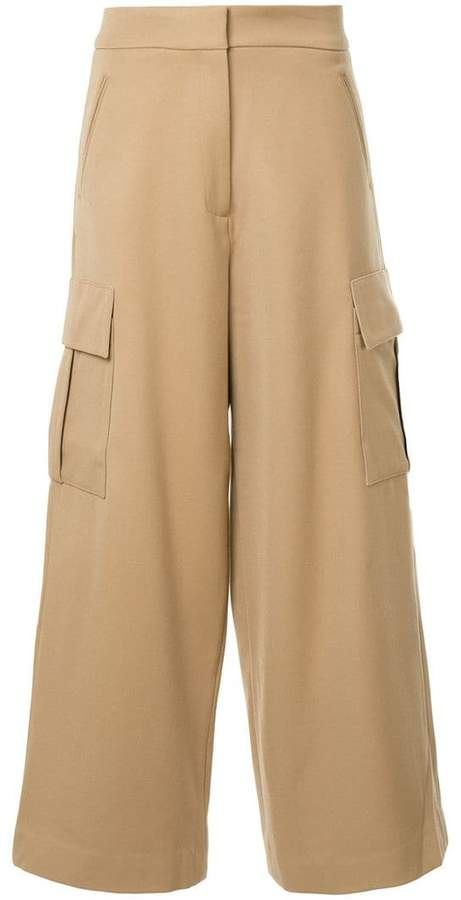 Studio Nicholson wide leg trousers