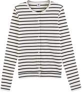Petit Bateau Womens striped cardigan