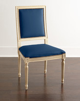 Horchow Massoud Ingram Leather Dining Chair, B5