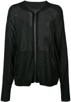 Barbara Bui sheer bomber jacket