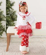 Mud Pie Santa Skrit Set with Fur Cuff