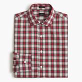 J.Crew Ludlow shirt in red tartan