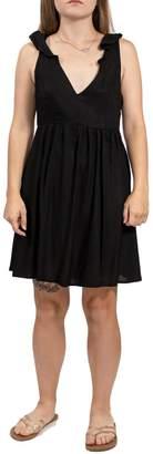 Volcom V-Neck Mini Dress