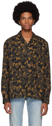 Norse Projects Black Carsten Paisley Shirt