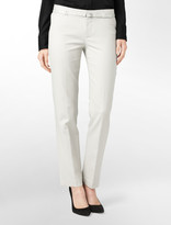 Calvin Klein Body Fit Belted High Density Skinny Ankle Pants