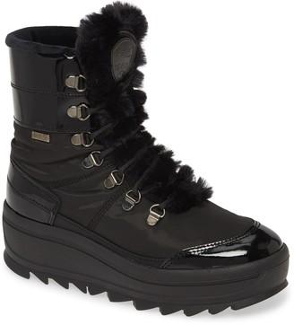 Pajar Taian Faux Fur Trim Waterproof Insulated Boot