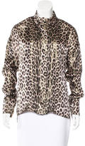 Alexandre Vauthier Printed Button-Up Top