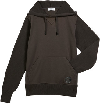 Stefano Ricci Boys' Two-Tone Cashmere Hoodie, Size 12-14