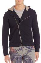 Eleventy Asymmetrical Zip Sweatshirt