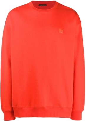 Acne Studios Face Patch Sweatshirt