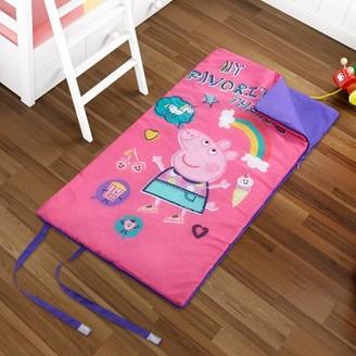 Peppa Pig Kids Slumber Bag, Machine Washable w/ Side Zipper