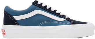 Vans Blue and Navy OG Old Skool LX Sneakers